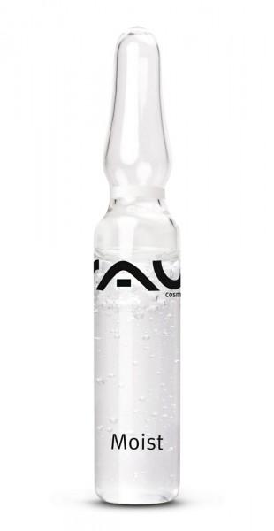 RAU Moist Ampullen 10 stuks x 2 ml  met hyaluronzuur, hydrolite®, allantoïne, sorbitol