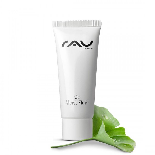 RAU O2 Moist Fluid 8 ml - doorbloedingsbevorderend fluid met hyaluronzuur & ginkgo-extract