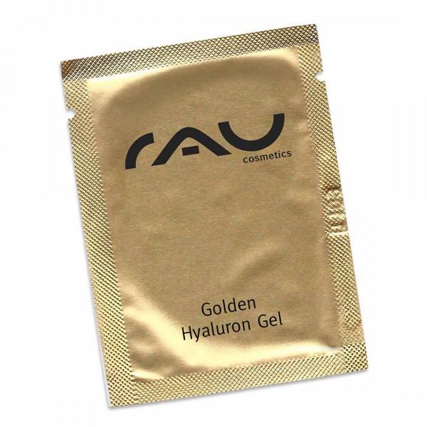 RAU Golden Hyaluron Gel 1,5 ml - luxueuze huidverzorging met 23 karaat goud, jujube, hyaluronzuur