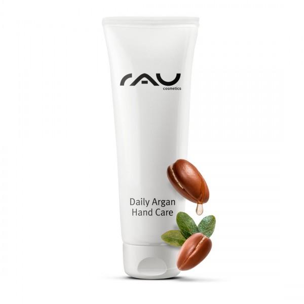 RAU Daily Argan Hand Care 75 ml - verzorgende handcrème voor belaste & droge handen
