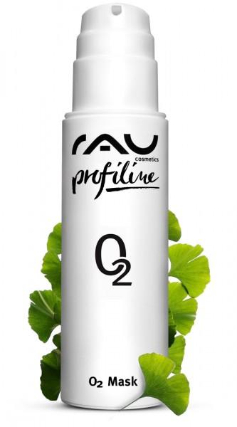 RAU O2 Mask 200 ml PROFILINE - Gezichtsmasker met aloë vera, arnica en ginkgo