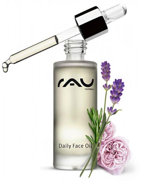 RAU Daily Face Oil 30 ml - pflegendes Gesichtsöl mit wertvollen Natur-Ölen
