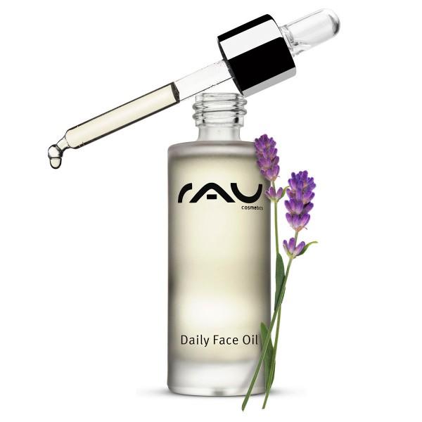 RAU Daily Face Oil 30 ml - verzorgende gezichtsolie met waardevolle natuurlijke oliën