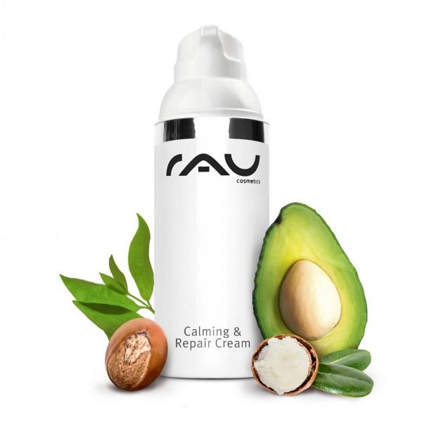 RAU Calming & Repair Cream 50 ml - kalmeert de geïrriteerde en gestresste huid