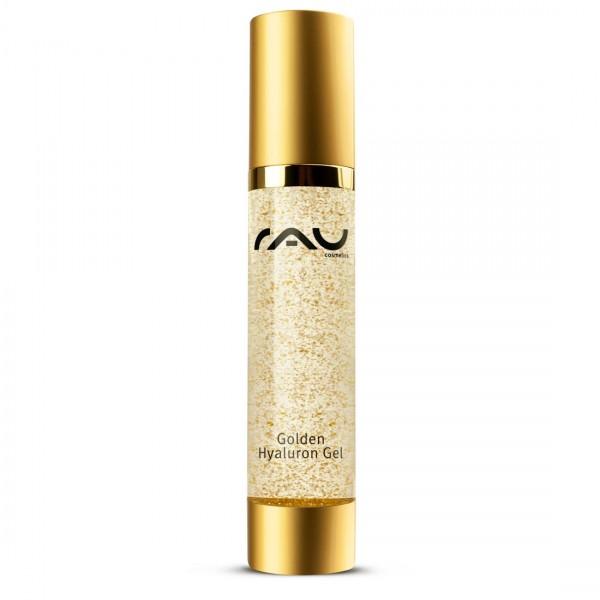RAU Golden Hyaluron Gel 50 ml - luxueuze huidverzorging met 23 karaat goud, jujube, hyaluronzuur