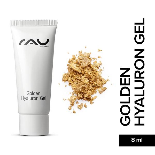 RAU Golden Hyaluron Gel 8 ml - luxueuze huidverzorging met 23 karaat goud, jujube, hyaluronzuur