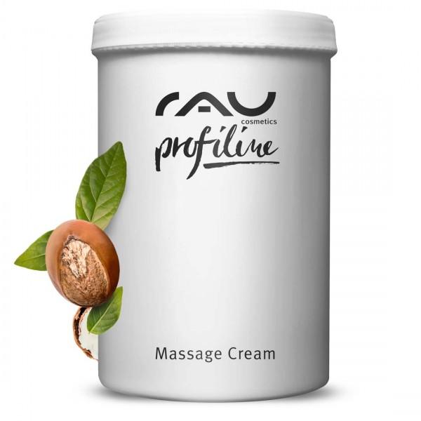 RAU Massage Cream Profiline 1000 ml voor schoonheidssalon - voor gezicht & lichaam