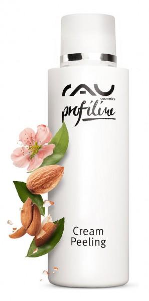 RAU Cream Peeling 150 ml PROFILINE voor schoonheidssalon - diepe reiniging door natuurlijke polijstk