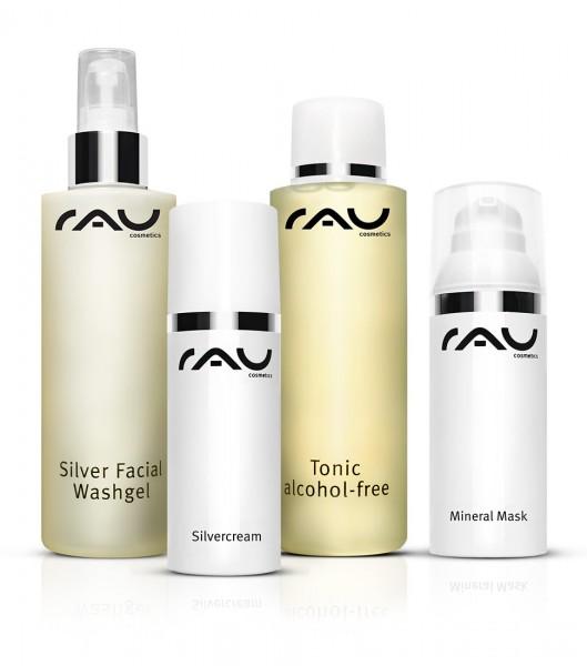 RAU Cosmetics verzorginsset voor de onzuivere huid L - groot