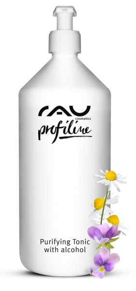 RAU Purifying Tonic with alcohol 1000 ml - ontstekingsremmend gezichtswater/tonic voor onzuivere huid