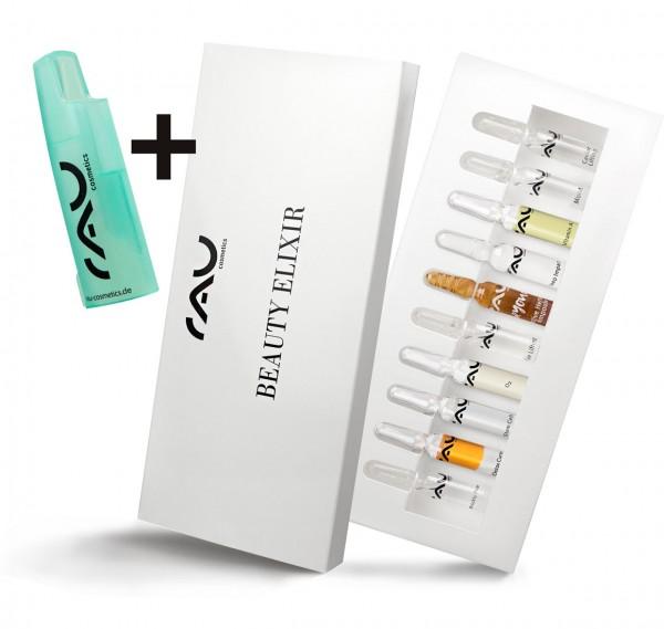 RAU BEAUTY ELIXIR - Ampullenmix (10 stuks x 2 ml) & gratis ampullenopener