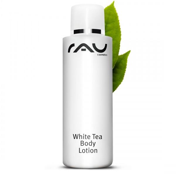 RAU White Tea Body Lotion 200 ml - rijke luxueuze verzorging voor het hele lichaam