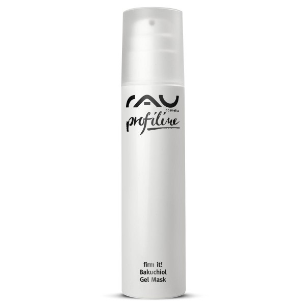RAU firm it! Bakuchiol Gel Mask 200 ml PROFILINE - verfrissend anti-aging gelmasker