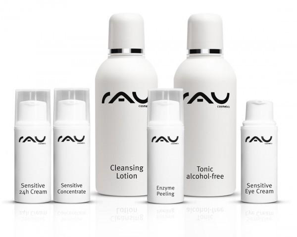 RAU probeerset Sensitive voor de gevoelige huid