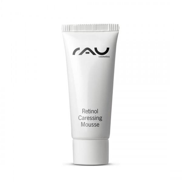 RAU Retinol Caressing Mousse 8 ml - met hoogwaardige plantaardige oliën, retinol & tripeptide-5