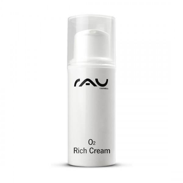 RAU O2 Rich Cream 5 ml - rijke crème met aloë vera, ginkgo & zonnebloemolie