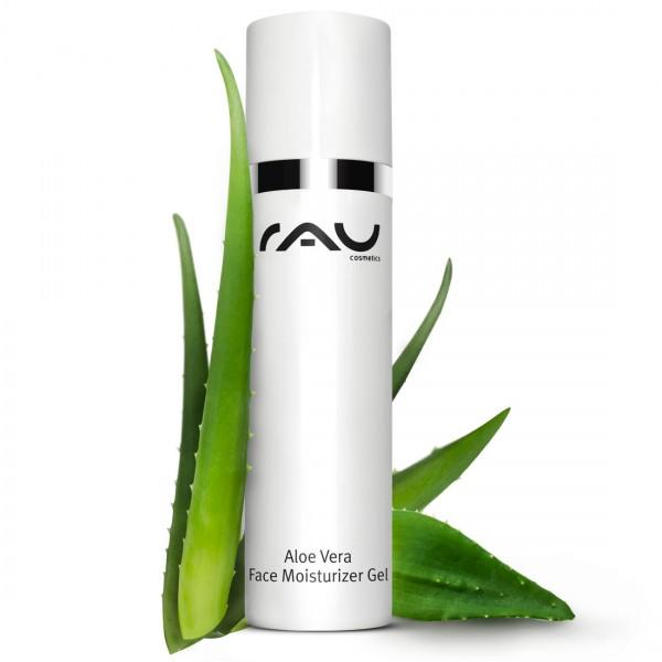 RAU Aloe Vera Face Moisturizer Gel 50 ml - Gezichts- & lichaamsgel met multitalent Ectoin®