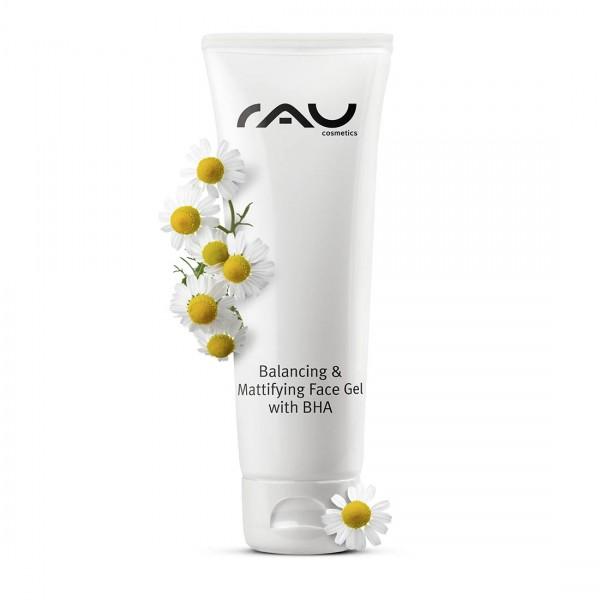 RAU Balancing & Mattifying Face Gel met BHA 75 ml - regulerend, poriënreinigend gezichtsgel