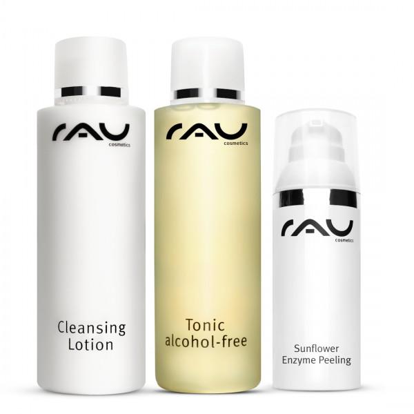 RAU Cosmetics reinigings-set voor de gevoelige huid
