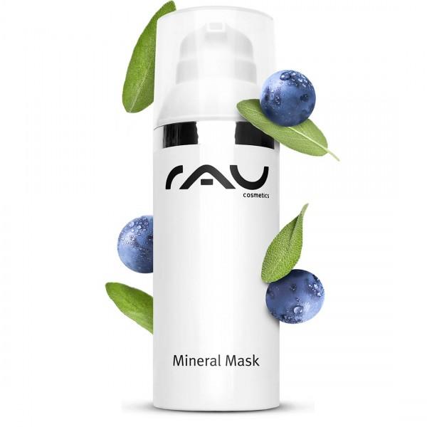 RAU Mineral Mask 50 ml - Gezichtsmasker voor onzuivere met Rügener Krijt, zink & salvia