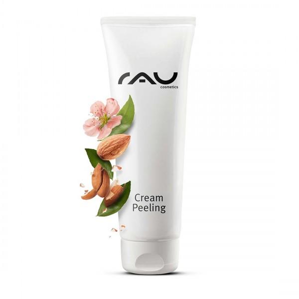 RAU Cream Peeling 75 ml - diepe reiniging door natuurlijke polijstkorreltjes