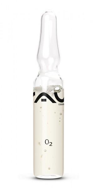RAU O2 Ampoule 1 stuks x 2 ml - schoonnheidsconcentraat voor het ultieme frisse effect