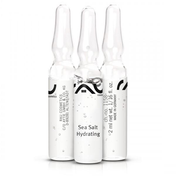 RAU Sea Salt Hydrating ampul 3 stuks x 2 ml - Ampul met waardevol zeezout en PHA