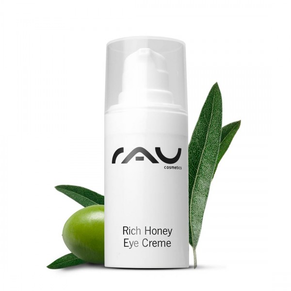 RAU Rich Honey Eye Cream 15 ml - voor een frisse en stralende oogpartij op iedere leeftijd!