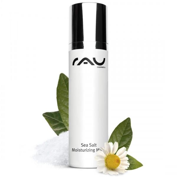 RAU Sea Salt Moisturizing Mask 50 ml - aangenaam gezichtsmasker met waardevol zeezout en PHA