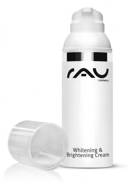 RAU Whitening & Brightening Cream 50 ml - oplichtende crème ZONDER arbutine tegen pigmentvlekken