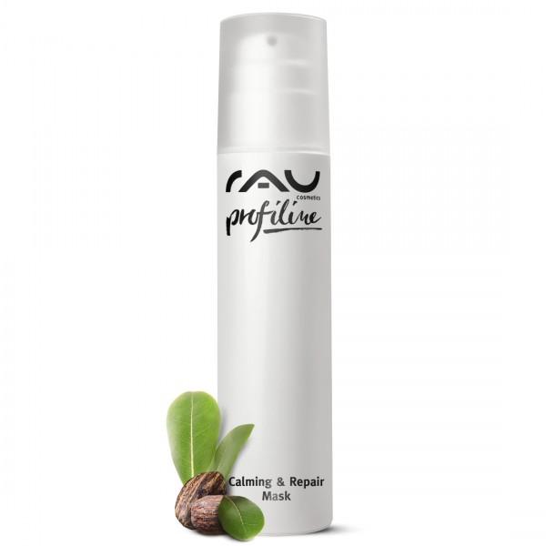 RAU Calming & Repair Mask 200 ml PROFILINE voor schoonheidssalon - kalmerend masker voor droge huid