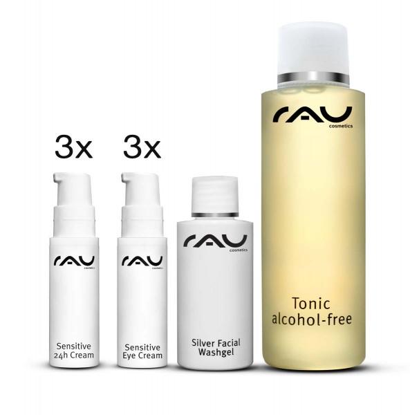RAU Cosmetics startset gevoelige huid - KLEIN