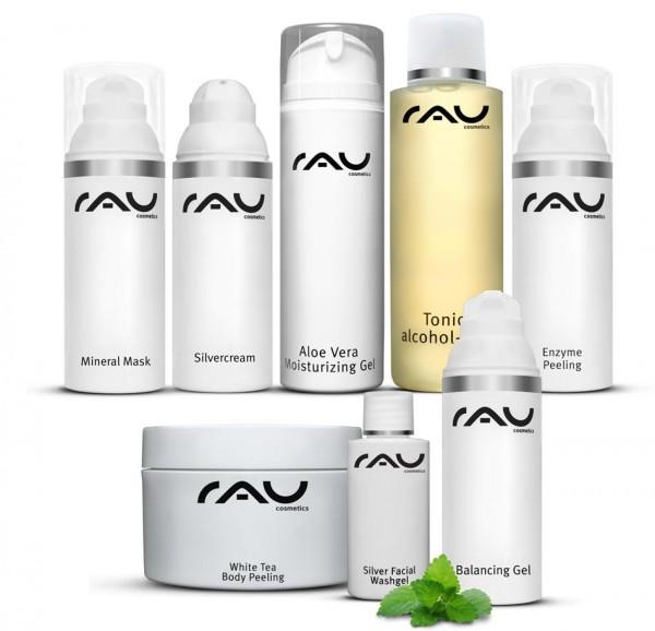 RAU Cosmetics startset onzuivere huid - DELUXE
