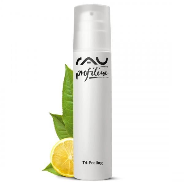 RAU Tri-Peeling 200 ml PROFILINE voor schoonheidssalon - Enzym- en fruitzuurpeeling