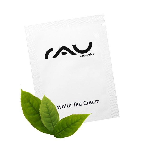 RAU White Tea cream voor alle huidtypen - Sachet 1,5 ml