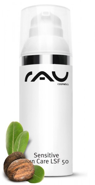 RAU Cosmetics Sensitive Sun Care SPF 50