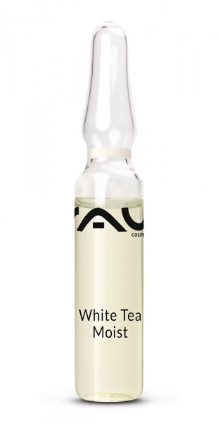 RAU White Tea Moist Ampullen 10 x 2 ml - Concentraat - tegen rimpels met hyaluronzuur & witte thee