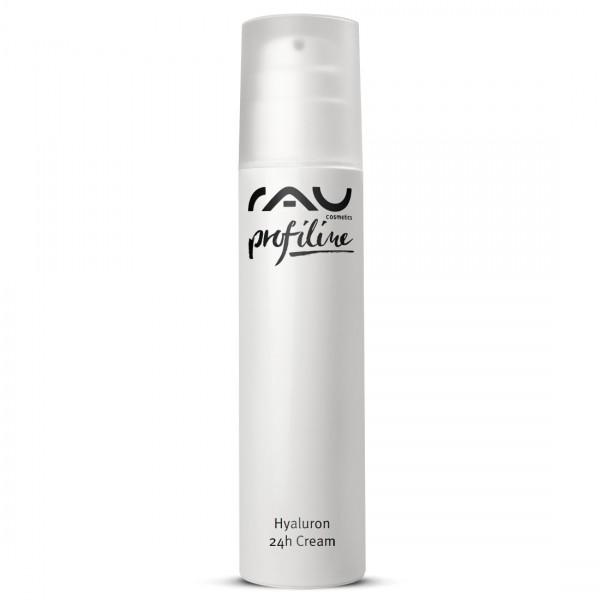 RAU Hyaluron 24h cream met hyaluronzuur, avocado-olie en squalaan, voor de droge, veeleisende, 30+ huid