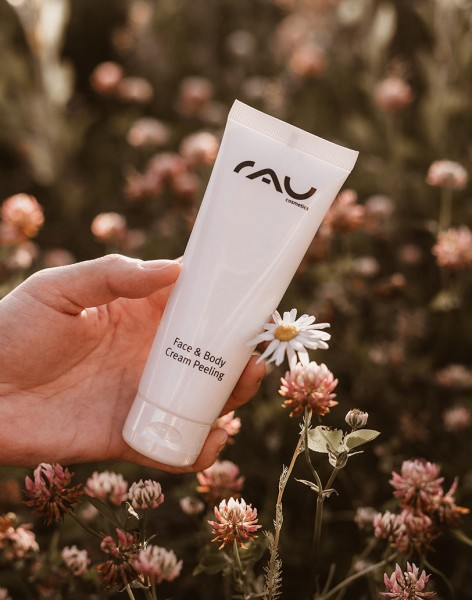 RAU Face & Body Cream Peeling 75 ml - diep reinigende en super werkzame peeling