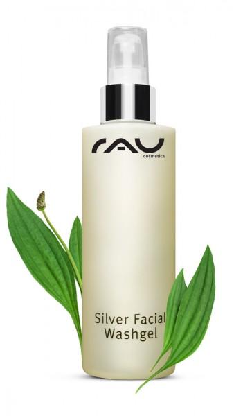 RAU Silver Facial Washgel 200 ml - Gezichtsreiniging met microzilver