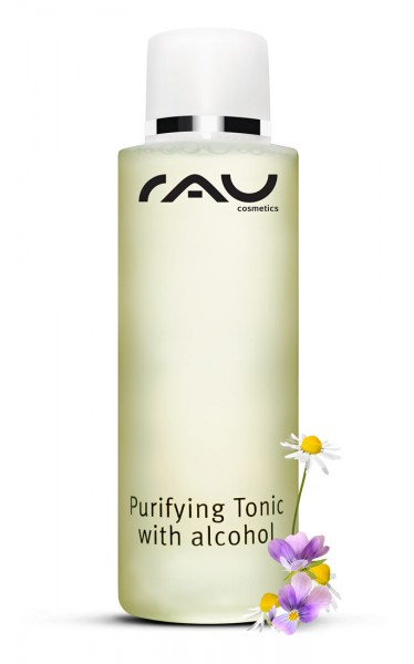 RAU Purifying Tonic with alcohol 200 ml - ontstekingsremmend gezichtswater/tonic voor onzuivere huid