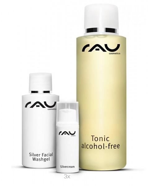 RAU verzorgingsset onzuivere huid S - Een ultiem verzorgingsset voor onzuivere huid