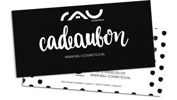 RAU Cosmetics Cadeaubon - 25 Euro