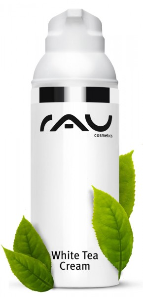 RAU White Tea Cream 50 ml pompje