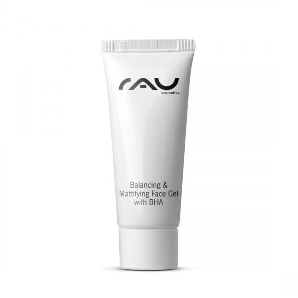 RAU Balancing & Mattifying Face Gel met BHA 8 ml - regulerend, poriënreinigend gezichtsgel