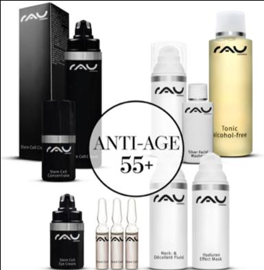 RAU Cosmetics startset - anti-age 55+