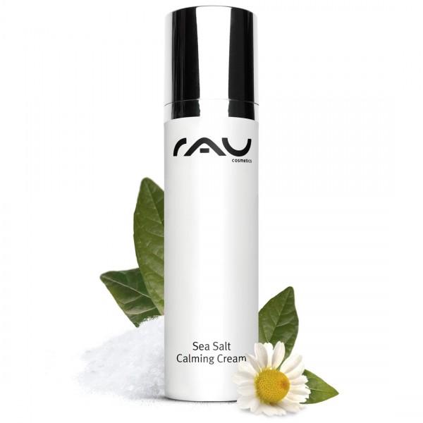 RAU Sea Salt Calming Cream 50 ml - aangename gezichtscrème met waardevol zeezout en PHA
