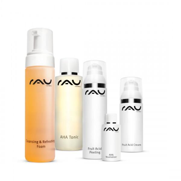 RAU Cosmetics fruitzuur-set voor stralende, vernieuwde huid