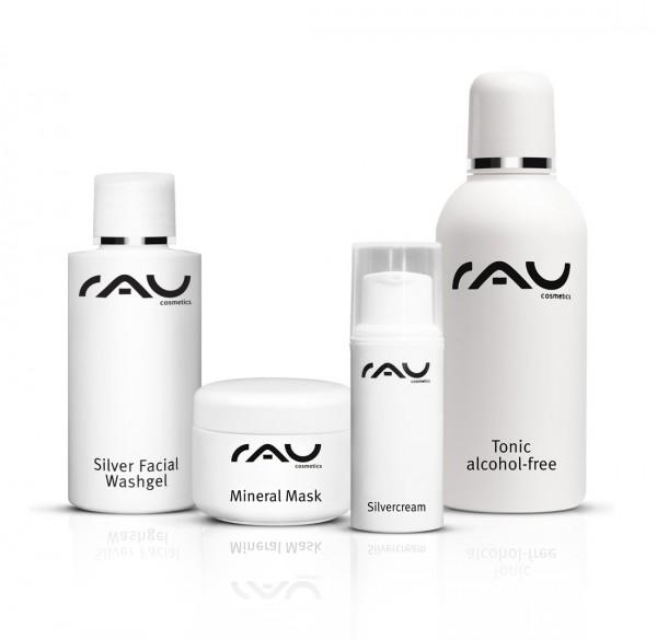 RAU Cosmetics verzorginsset voor de onzuivere huid S - klein