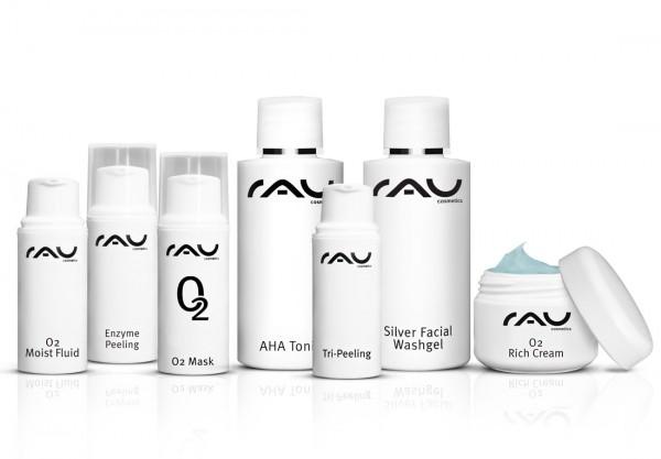 RAU Probeerset O2 Serie - zuurstofarme huid